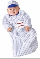 Newborn Baby Baseball Costume