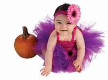 Newborn Baby Girls Tutu Dress Purple/Pink - Out Of Stock