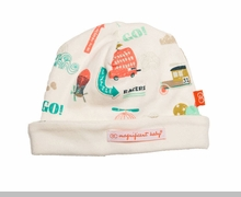 Newborn Boys Hat - Reversible Transport - sold out