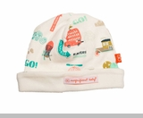 Newborn Boys Hat - Reversible Transport