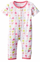 Newborn Girls Nantucket Whales Unionsuit
