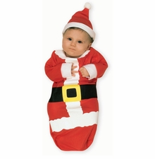 Newborn or Infant: Santa Claus Bunting - sold out