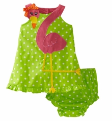 Flamingo Dress - Baby Costume Dress