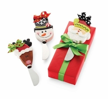 North Pole Christmas Ceramic Spreaders - SET OF 3!