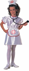 Nurse Costume - Children's Costumes  with STETHESCOPE