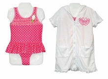 Penny M Little Girls 2pc Swimsuit Set