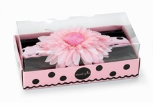 Perfectly Princess Pink and Black Head band - sold out