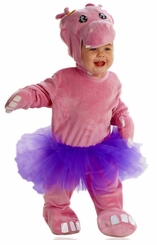 Pink Hippo Costume - Hippo Infant and Toddler Costume