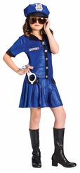 Police Chief GIRL Costume