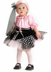 Pretty Little Girl's Pirate Costume