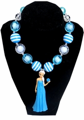 Princess Inspired Doll Necklace