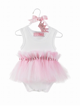 Princess Tulle Knotted Crawler