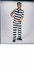 Prisoner Costume - Convict Costume - TEEN OR ADULT SIZE - sold out