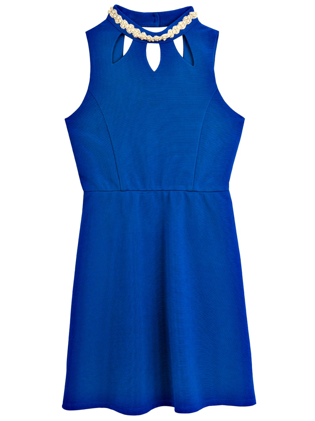 Rare Editions Big Girls Modern Royal Blue Party Dress SIZE 7