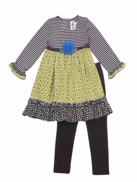 Rare Editions Little Girls Pant Set - Fall Clothes