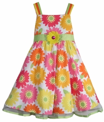Rare Editions Dress : Sunny Floral  Print Sundress SIZE 6 LAST ONE FINAL SALE