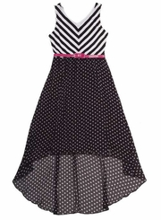Rare Editions Girl's Hi Low Dress  SIZE 7 FINAL SALE