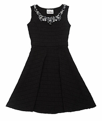 Rare Editions Girls 7-16 Textured Knit Dress - sold out