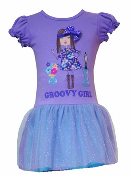 Rare Editions Groovy Girl Dress - 2T    CLEARANCE FINAL SALE