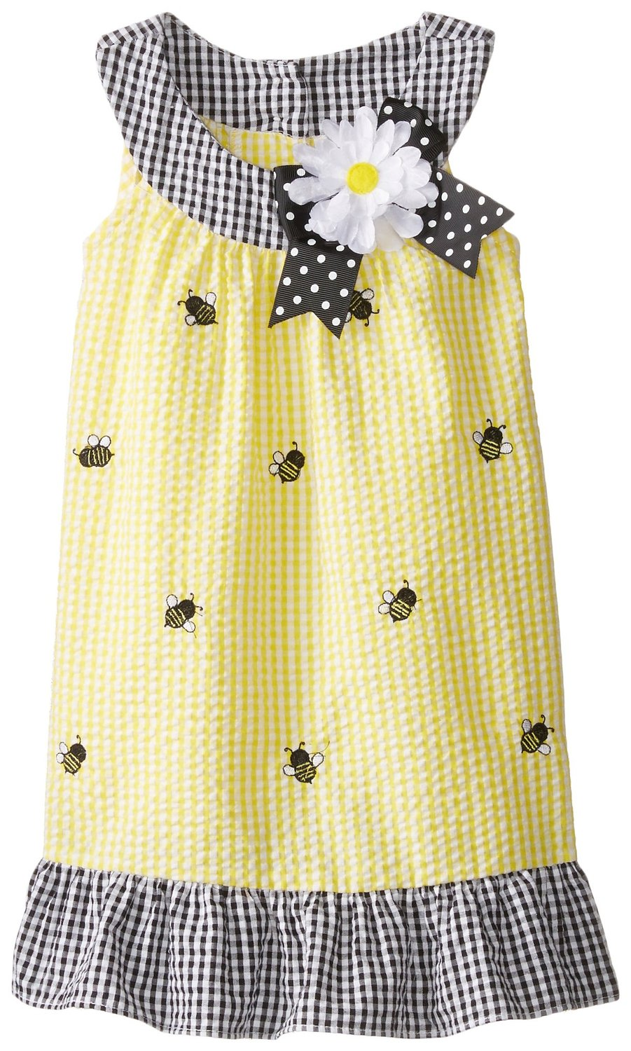 Rare Editions Girls Bee Seersucker Dress sold out
