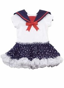 Rare Editions Nautical Tutu Pageant Dress SOLD OUT