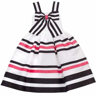 Rare Editions Summer Stripe Bow Dress SALE