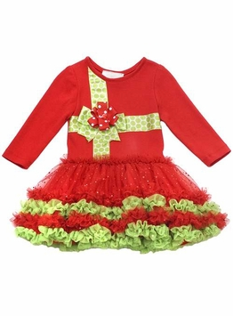 Red Christmas Present Dress