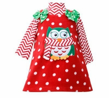 Red Penguin Fleece Jumper Set - Holiday Dress