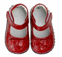 Red Patent Quilted Toddler Little Girls Shoes - Out of Stock