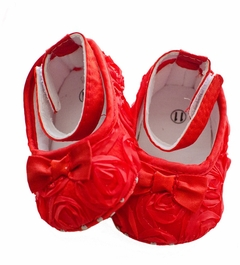 Red Rosette Baby Holiday Shoes - sold out