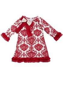 Red Toile Dress - Special Occassion Dress