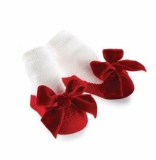 Dressy Baby Socks for Newborn Girls