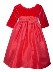 Red Velvet Rose Dress  sz  2 LAST ONE FINAL SALE
