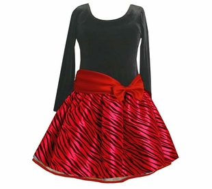Red Zebra Hipster -  Girls 7-16 and Plus Sizes Too! - SOLD OUT