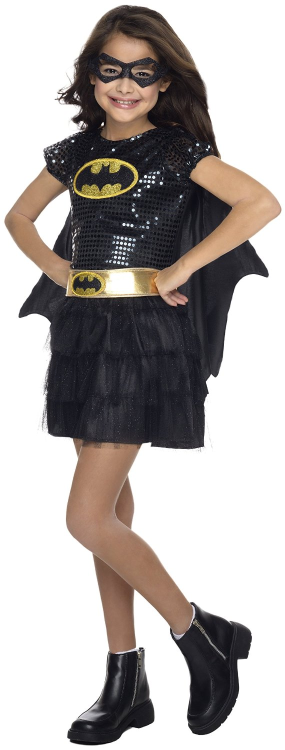 Rubie s batgirl sequin dress child costume sold out