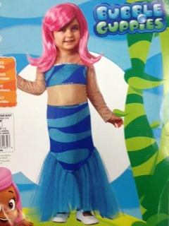 Bubble Guppies Halloween Costumes bubble guppies 6 differences Rubies Bubble Guppies Molly Costume