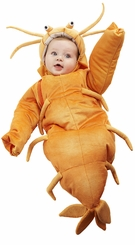 SHRIMP Bunting - Newborn Baby Bunting Costume - SOLD OUT