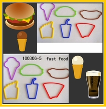 SILLY BANDS - FAST FOOD  12 PK