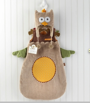 "Snuggle Sack & Cap - ""My Little Night Owl"" - SOLD OUT"
