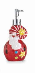 Soap Pumps : Holiday Santa Soap Pump
