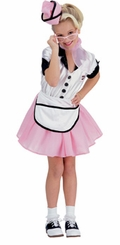 Soda Pop Girl - PINK - 50's Costumes