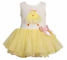 Summer Chick Sundress - Chick Tutu Toddler Size  ( M24212 )