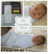 "Swaddle - ""Classic"" Zen Swaddle - Weighted Baby Swaddle Blanket CHOOSE ONE"