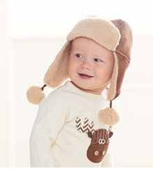Tan Faux Shearling Boy's Hat SOLD OUT