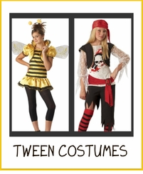 Tween - Junior Costumes Age 11 and Up