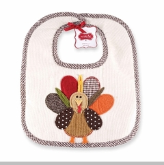 Thanksgiving Bib - Turkey Baby Bib - OUT OF STOCK