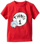 Thing 1  Tee  Infant or Toddler  Dr Seuss Costumes & Accessories