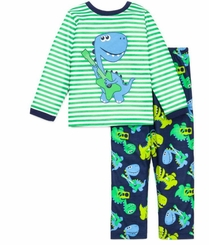 Toddler Boys Pajamas : Music Dinosaur Boys Sleepwear - SOLD OUT