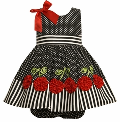 Toddler Easter Dress :  Bonnie Jean Spring Cherry Dot sold out