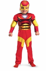 Toddler Iron Man Costume  - Muscle Chest - sold out